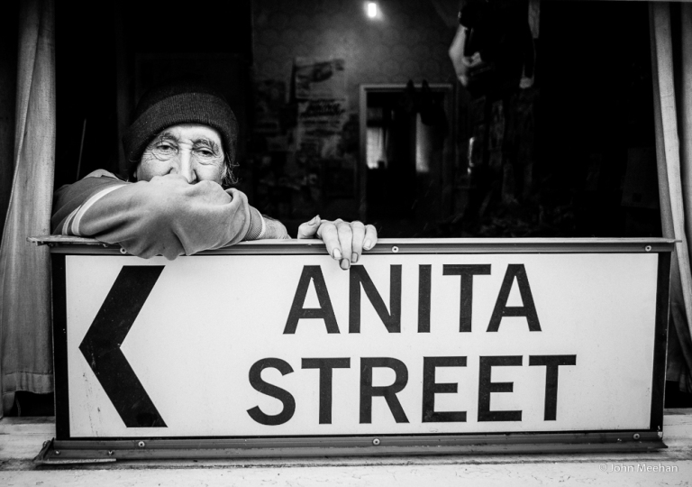 Anthony, Little Italy resident of 40 years. Ancoats, Manchester.