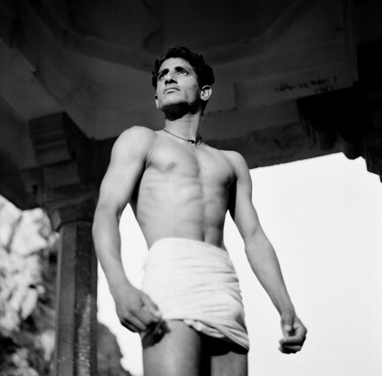 The diving man Monkey Temple Jaipur. Image copyright Jason Scott Tilley.