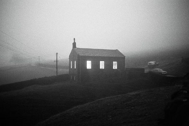 Crimsworth Dean Methodist Chapel, 1977. Image copyright Martin Parr.