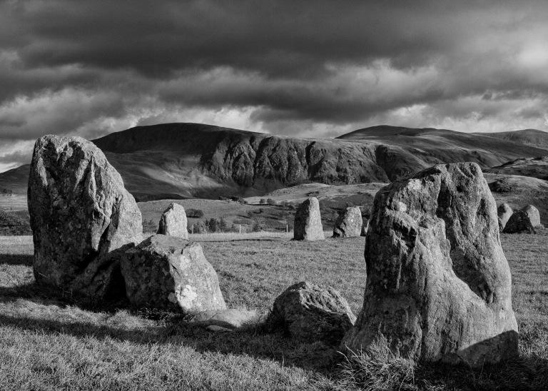 Castlerigg Stone Circle (mono)