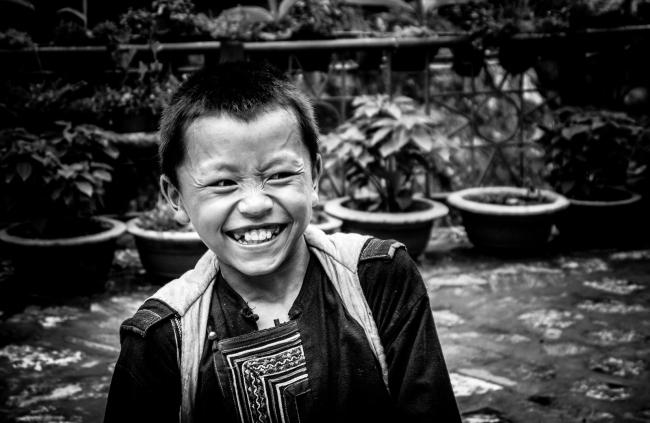 Street Kid. Sapa, Vietnam 2012.