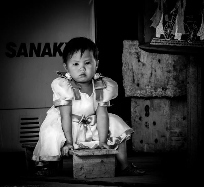Toddler. Sapa, Vietnam 2012.