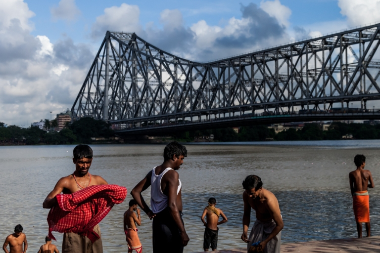 Hooghly River - Howrah Bridge