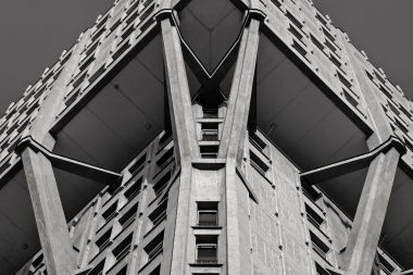 Torre Velasca, 1956-58, BBPR Partnership, Milano,