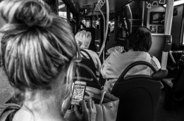 bus game B&W